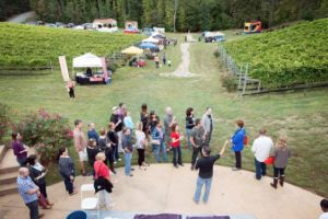 Potomac Point Winery harvest festival