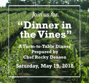 Dinner in the Vines flyer