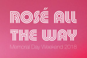 Rose All the Way 2018 logo