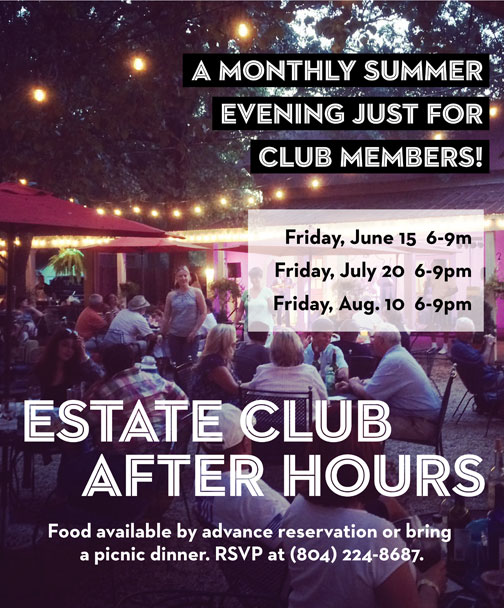 Estate Club After Hours flyer