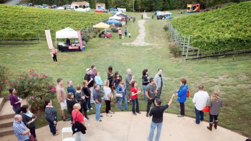 Potomac Point Winery Harvest Festival 2018