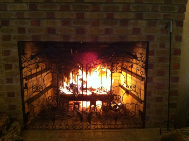 A Warm Fire in the Pavilion