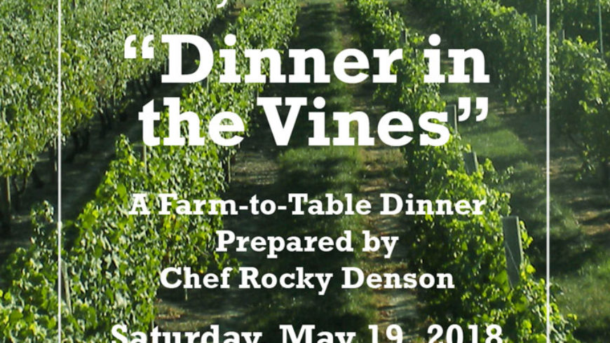 Dinner in the Vines 2018