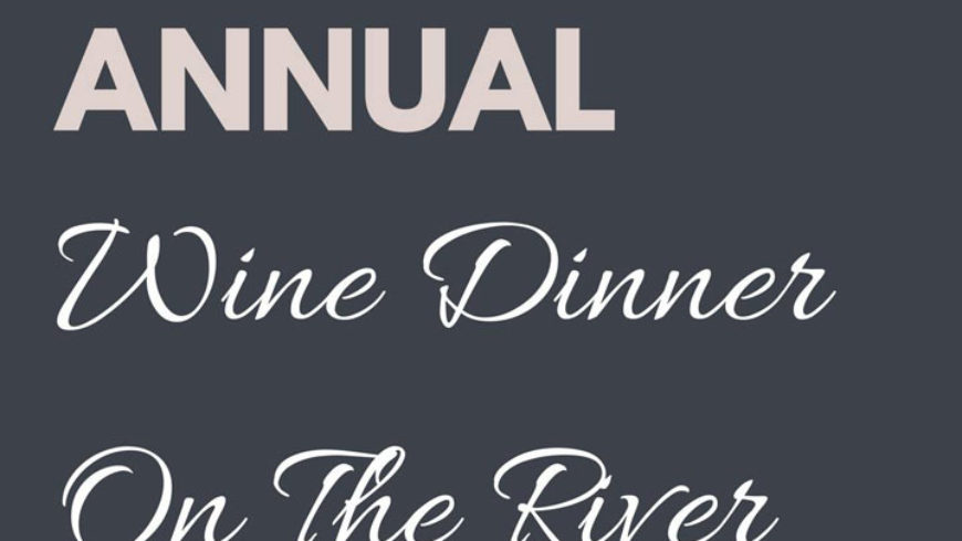 Wine Dinner at Rick's on the River