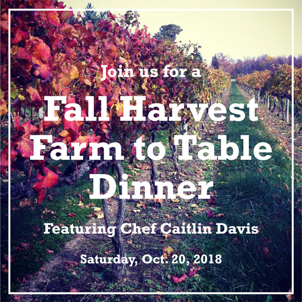 Harvest Farm to Table Dinner 2018
