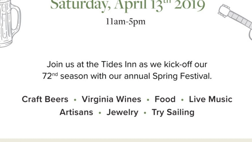 Spring Festival at the Tides Inn