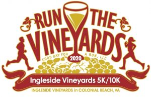 Run the Vineyards 5k & 10k logo